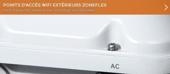 Gamme de point d'accès WiFi extérieurs Zoneflex du distributeur de réseaux WiFi Ruckus