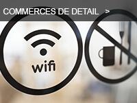 Gamme destiné aux commerces de détail par le distributeur de réseaux WiFi Ruckus