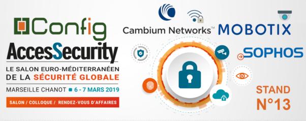 AccesSecurity bannière Config + Cambium + Mobotix + Sophos