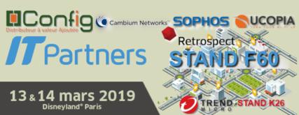 Bannière IT Partners Config + Cambium + Sophos + Ucopia + Retrospect + Trend Micro Stand